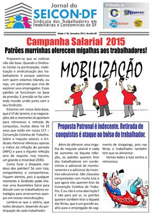 Jornal SEICON-DF 12/2014