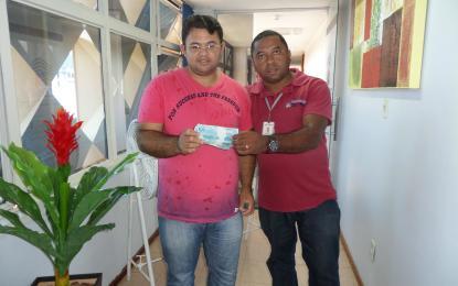 Ganhadores da Promoção Associado Premiado do mês de Janeiro/2015