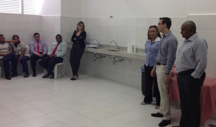 SEICON-DF visita condomínio e participa de café-da-manhã com trabalhadores