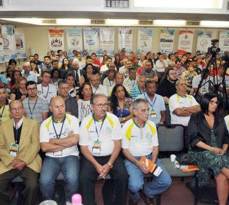 Em dia de abertura,Congresso Fenatec/Conatec promove debate sobre a importância da união dos sindicatos